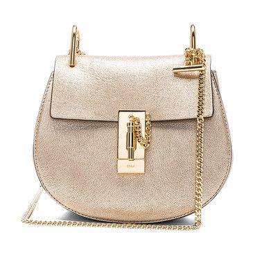 Mini Drew shoulder bag - Metallic Chlo oWvDJ