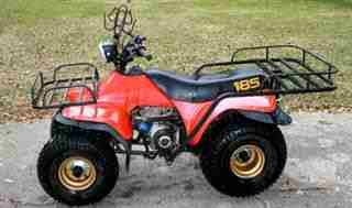 My first quad Suzuki 185 | Side by side | Atv, Motorcycle, Lawn mower