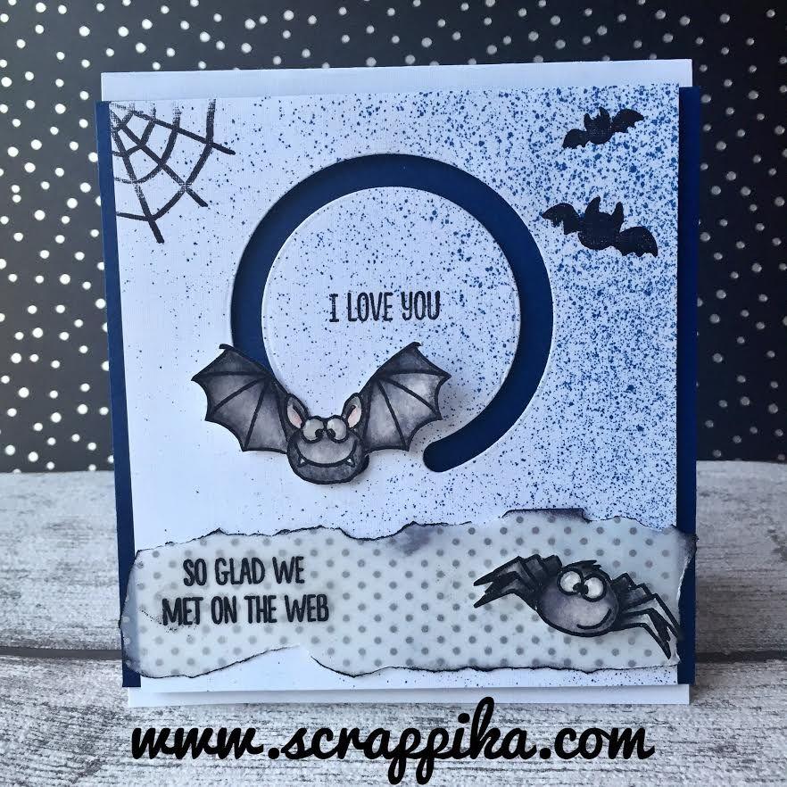 Fun Halloween Card! Gerda Steiner Designs Card by Erika at