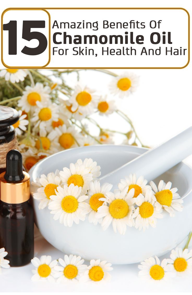 15 Amazing Benefits Of Chamomile Oil For Skin, Health And Hair