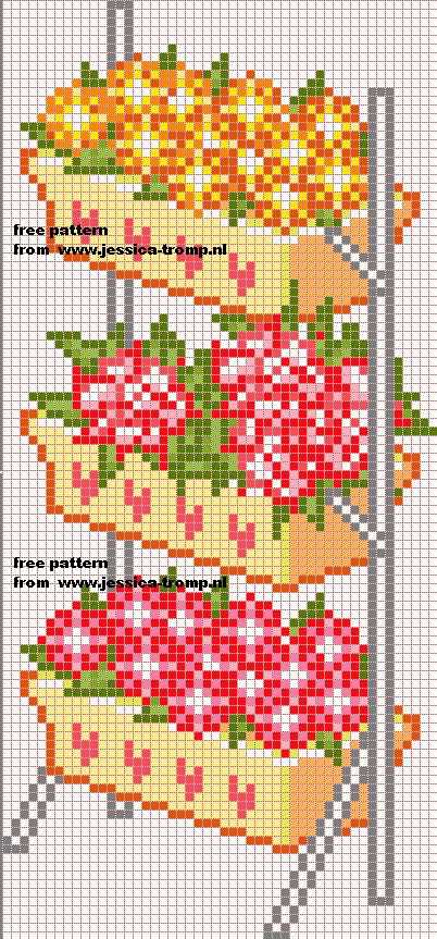 Spiksplinternieuw borduren kruissteekpatronen cross-stitching free pattern (73) (met ZV-29