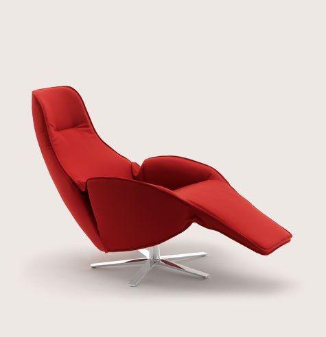 Modern Recliner Chair Luxury Footstool Furniture Cor