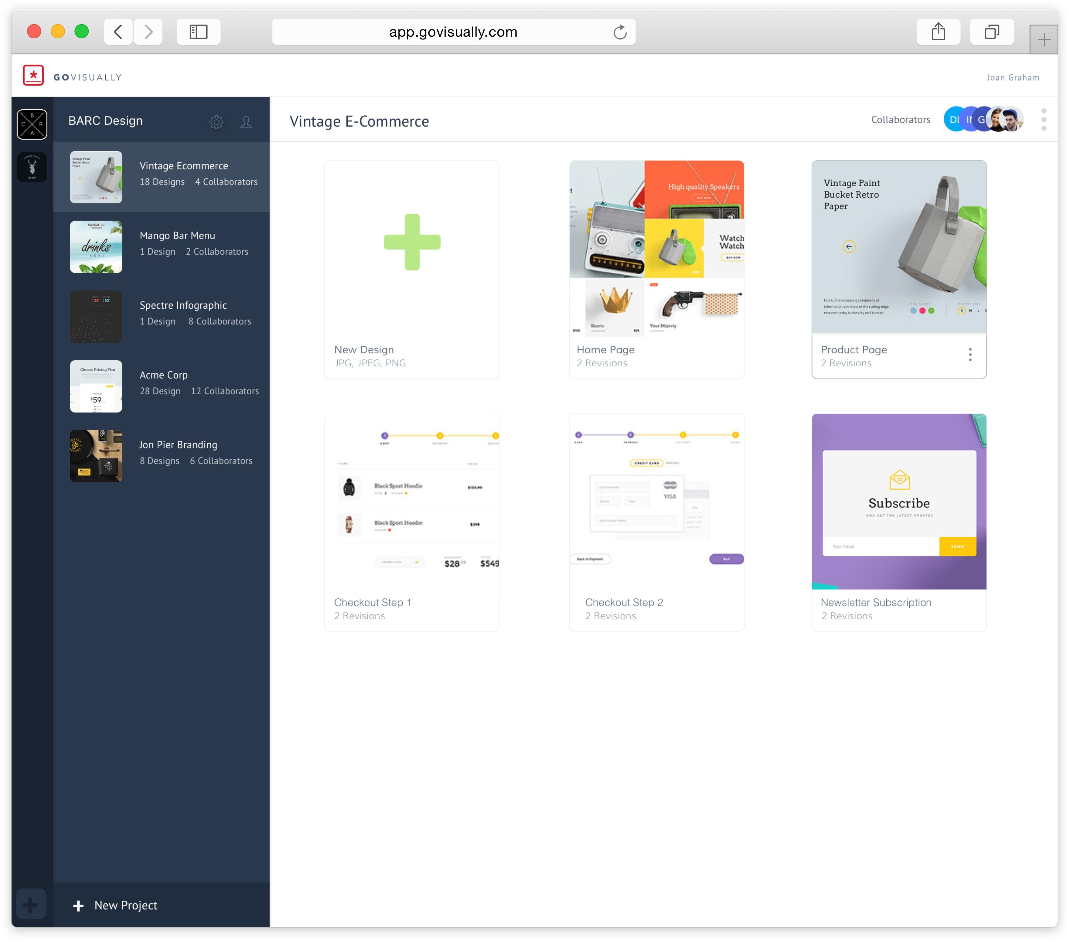 Govisually Visual Collaboration Proofing Tool For Designers Agencies Software Design Ecommerce