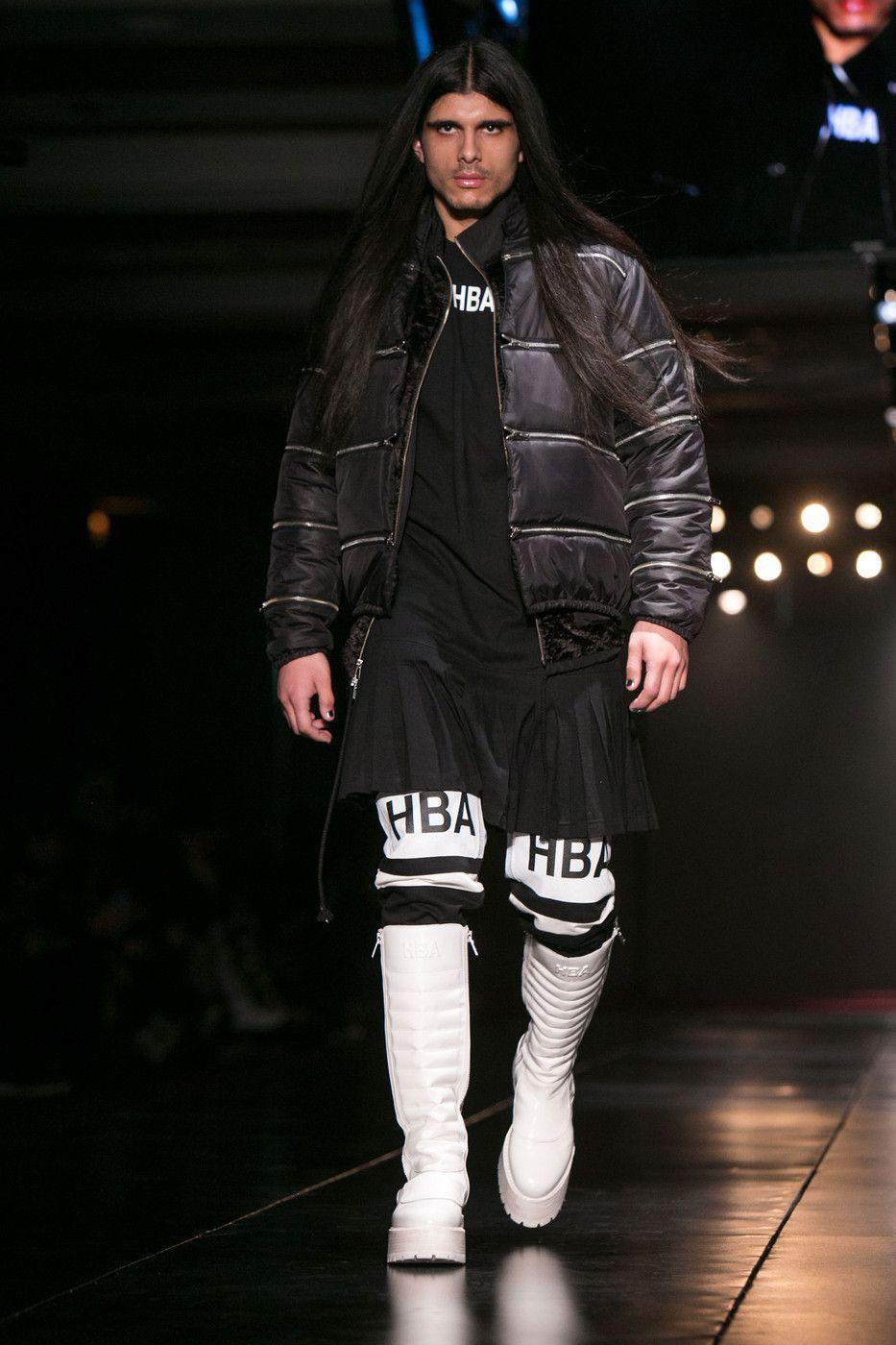 Hood By Air at New York Fashion Week Fall 2014