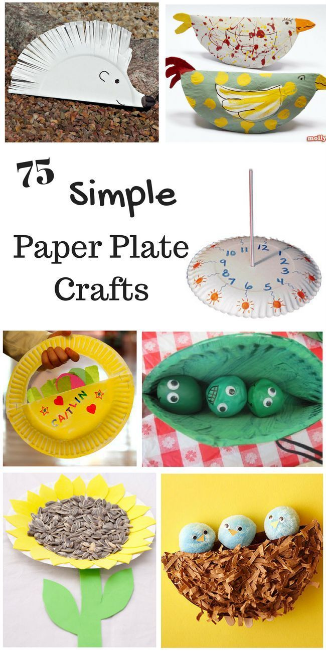 Fun Kids Craft Ideas Part - 50: 75 Simple Paper Plate Crafts For Every Occasion. Fun Paper Plate Craft Ideas  For Kids.