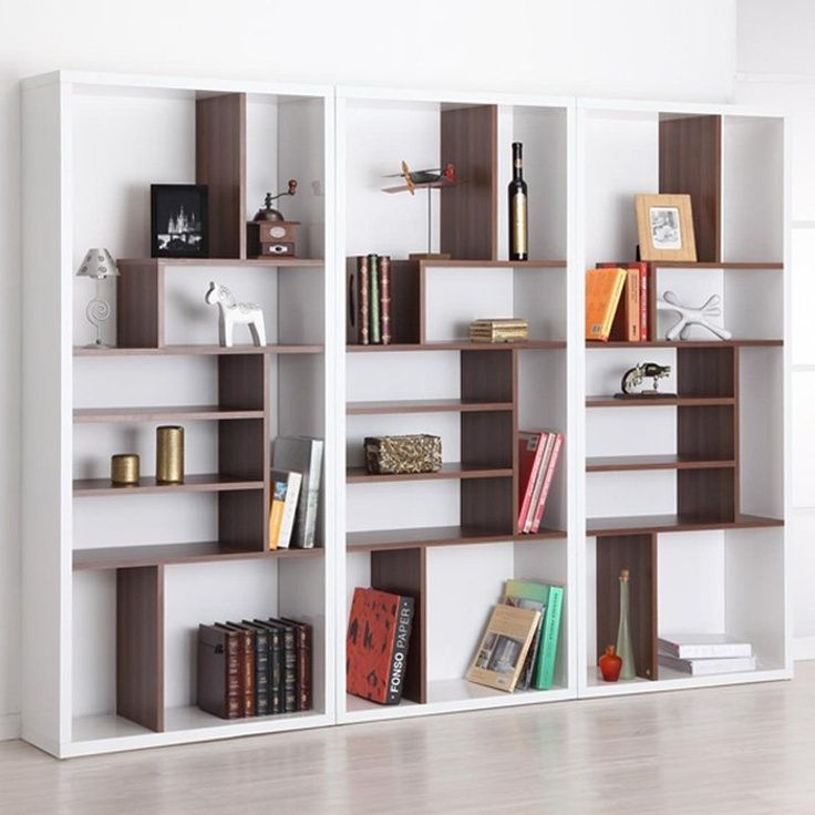 pin by vero albin on upstairs bookshelves pinterest rh pinterest com Contemporary Modern Bookshelves White Shelves Bookcases