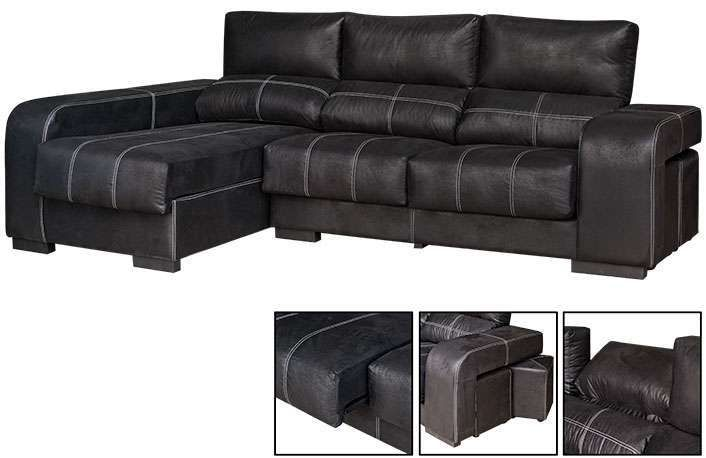 Chaise Longue Extraible Y Reclinable on chaise furniture, chaise recliner chair, chaise sofa sleeper,