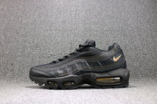 new concept 238ac 2ddef Mens Shoes Nike Air Max 95 Premium SE Black Gold 924478 003