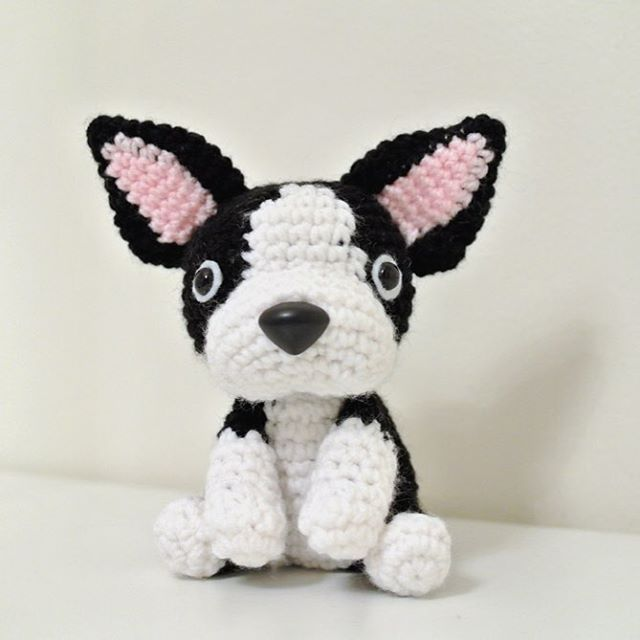 "8/"" BOSTON TERRIER hs"