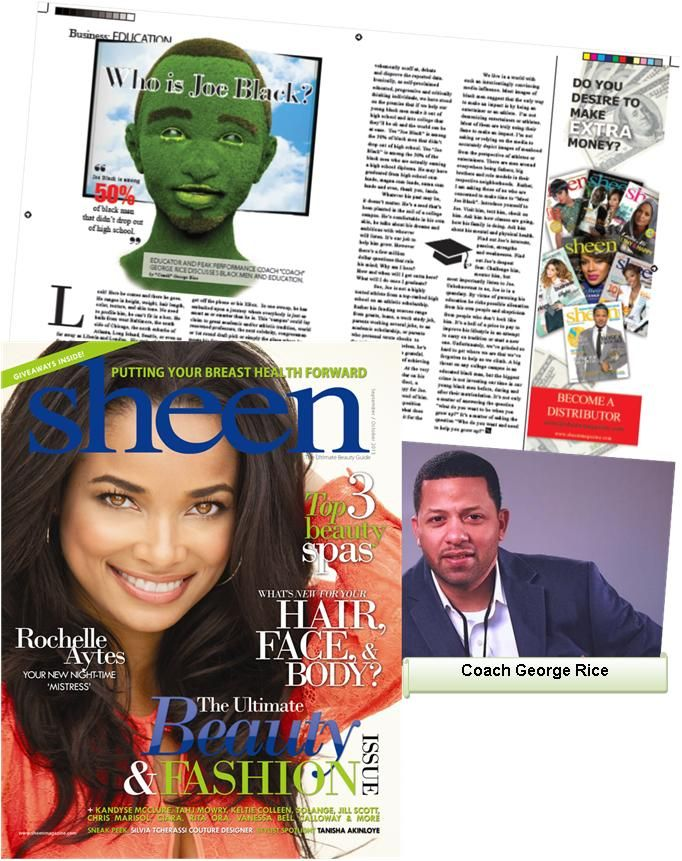 """TMA Client """"Coach"""" George Rice breaks down the business of #education in the latest @Sheen Yap Magazine (Fall Issue)"""