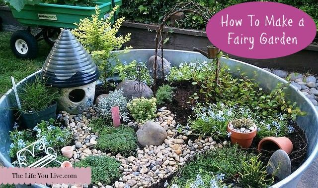 Delightful How To Make A Fairy Garden Fairy Gardens Are Magical, Mystical, And  Mythical.