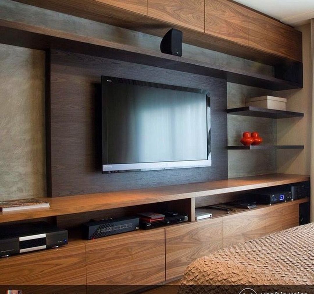 Amazing Wall TV Cabinet Designs 6220 | Tv cabinet design ...