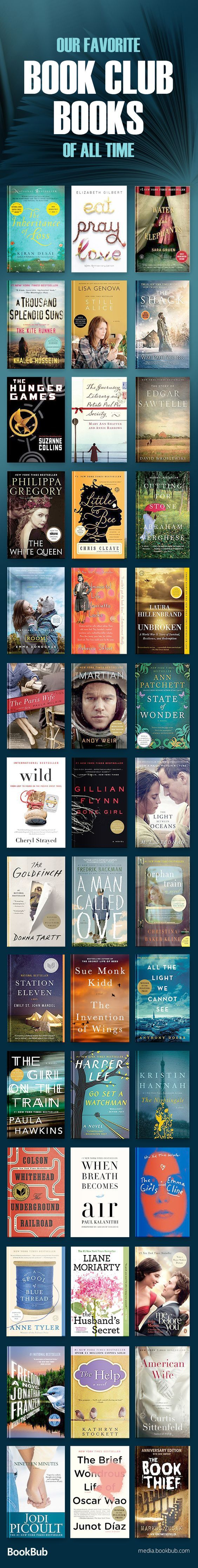 The Most Popular Book Club Books Of The Past Decade Book Club