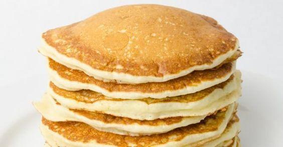 Recette de Pancakes minceur. Facile et rapide à réaliser, goûteuse et diététique. Ingrédients ...