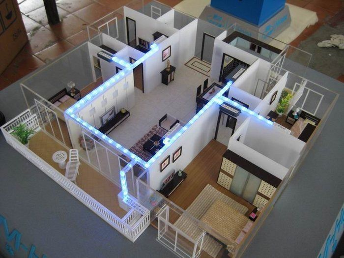 Architectural building supplies collection for 3d house model maker