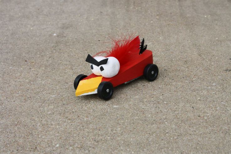 38 Creative Pinewood Derby Cars that will Impress You #angrybirds ...