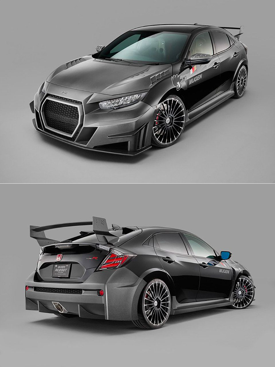 This Mugen Civic Type R Might Be The Craziest Looking Yet Honda Civic Type R Honda Civic Civic
