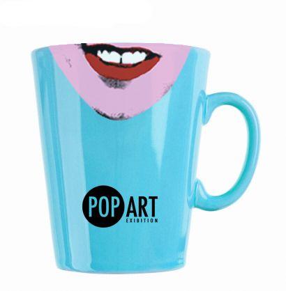 Graphic design Pop Art mug By Calum MacEachen