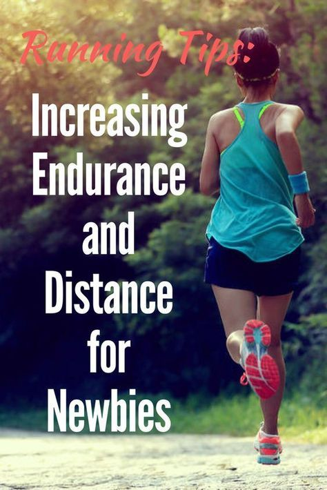 Running Tips: Increasing Endurance and Distance for Newbies via /DIYActiveHQ/