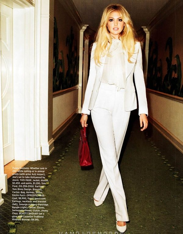 5ee9d50605f3 White tailored suit  TomFord  fashion  womens