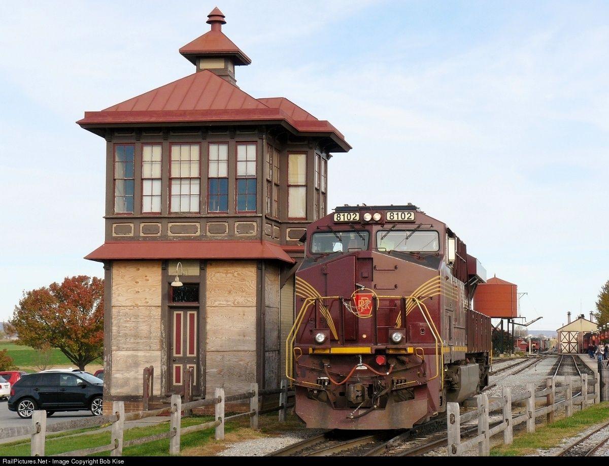 RailPictures.Net Photo: NS 8102 Norfolk Southern GE ES44AC at Strasburg, Pennsylvania by Bob Kise
