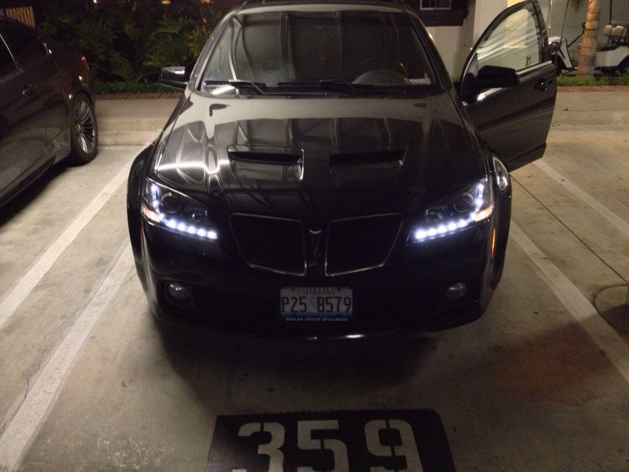 my pontiac g8 with spyder black projector headlights with leds pontiac g8 pontiac cars motorcycles pontiac g8 pontiac cars motorcycles