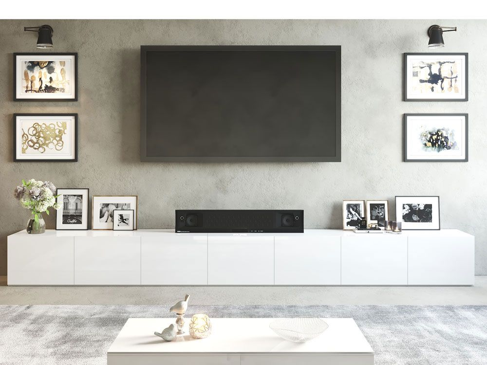 Goede 1.8m White High Gloss Oxford Buffet in 2020 (With images) | Tv KP-74