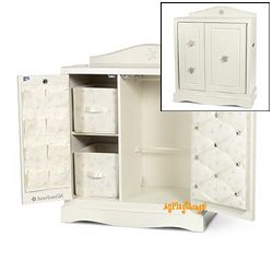 American girl doll storage cabinet.Really expensive about $350 ...