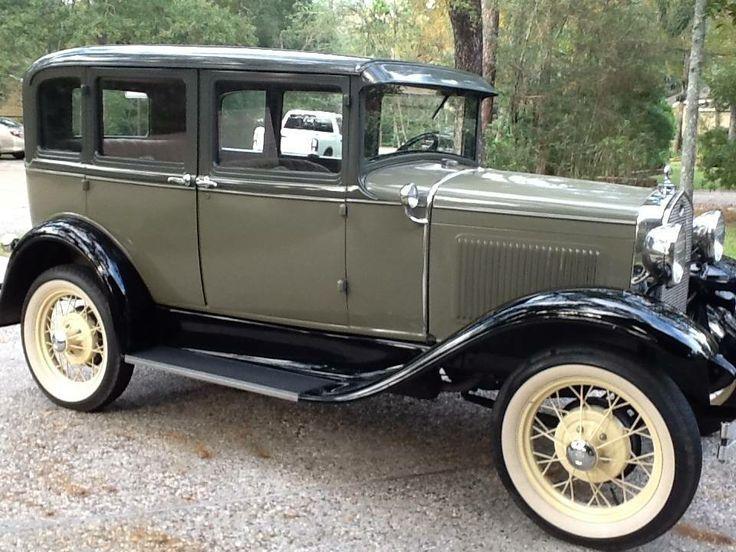 1931 ford model a 4 door deluxe sedan classic ford for 1931 ford 2 door sedan