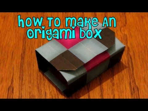 How To Make An Origami Box (''Box In A Box'')