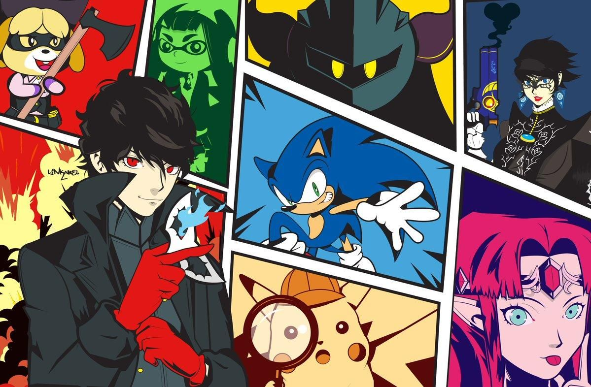 """Let us start the show!"" Super Smash Brothers Ultimate"