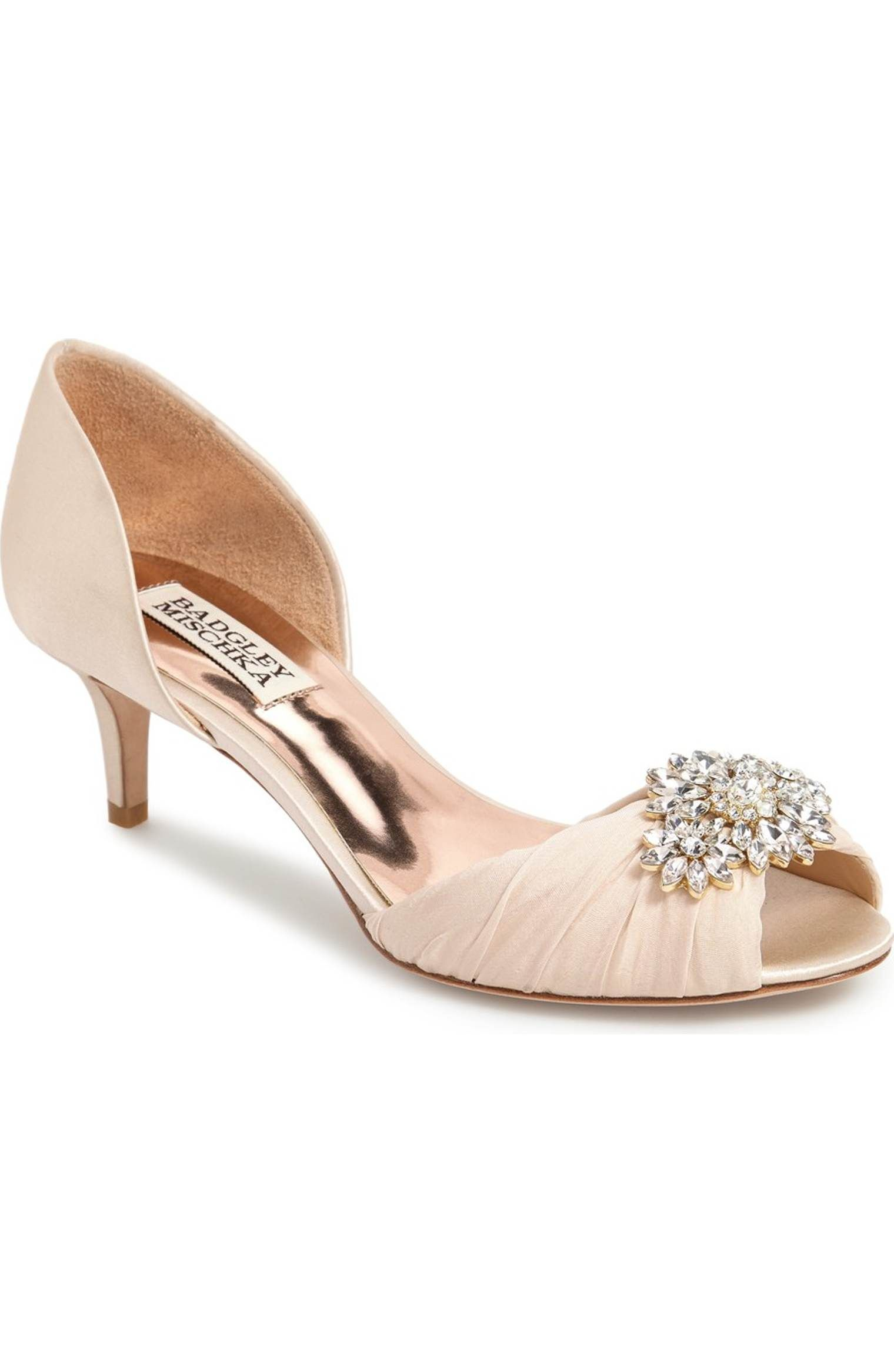 503031048d46fc Main Image - Badgley Mischka  Caitlin  Pump (Women)