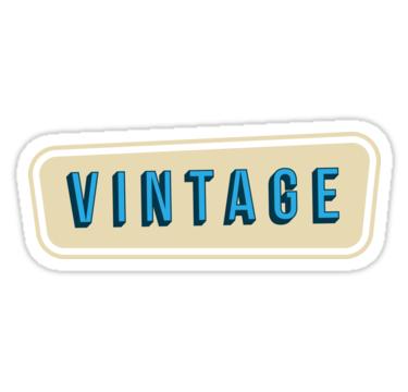Vintage Text Vintage Design Stickers By Teodor T Redbubble Vintage Text Vintage Designs Design