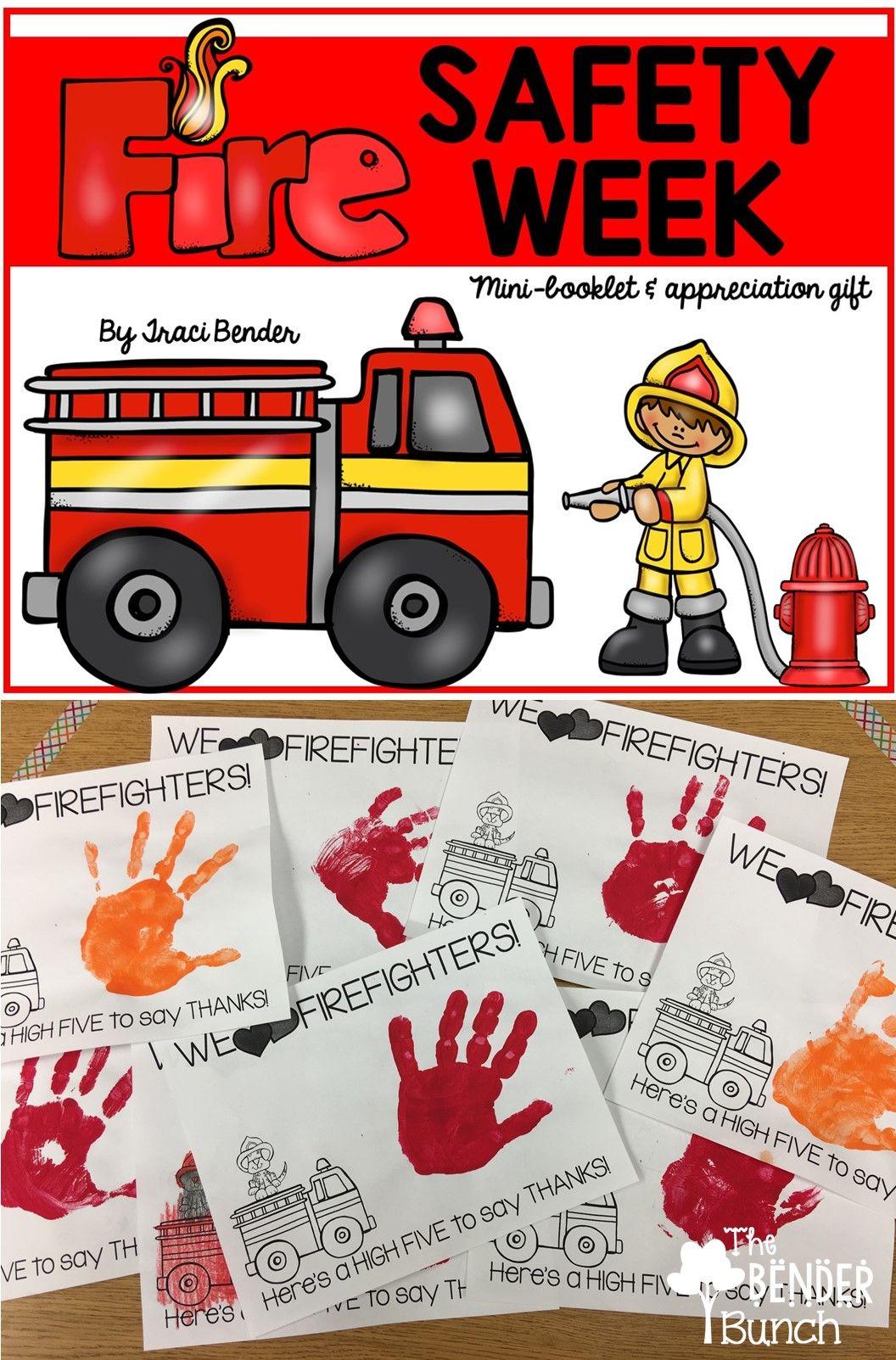 Fire Safety Week Minibooklet & Appreciation Gift Fire
