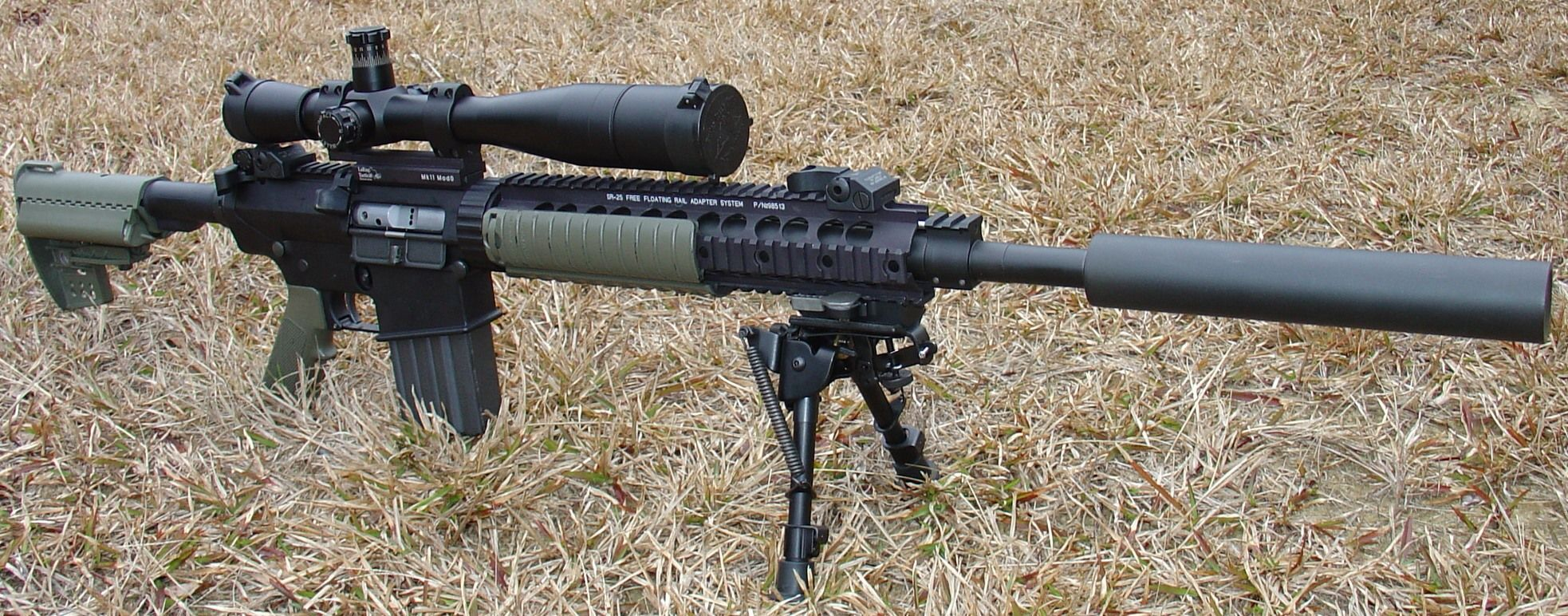 Jake Carried This Weapon While Serving As A Scout Sniper U