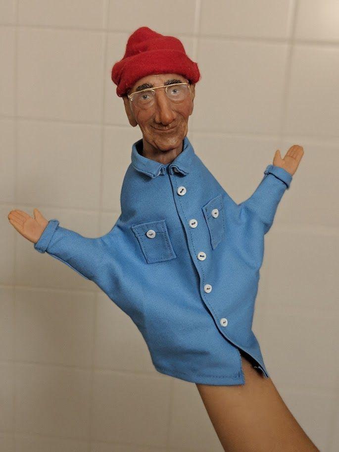 Detailed Hand Puppet #handpuppets
