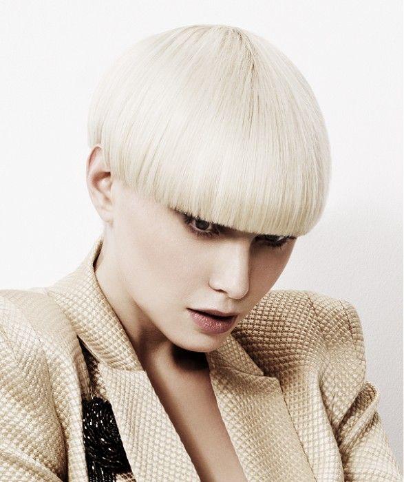 Headquarters Hair Salon Short Blonde Straight Hair Styles 22492