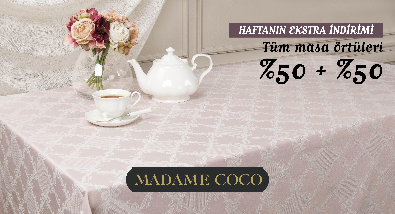 Madame Coco Masa Örtüsü fiyatları
