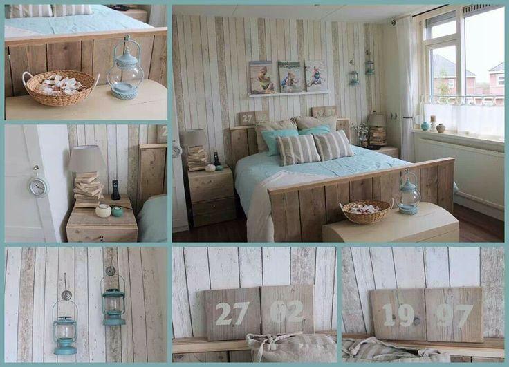 kleurinspiratie zee slaapkamer - Google zoeken | Wooniedeetjes ...