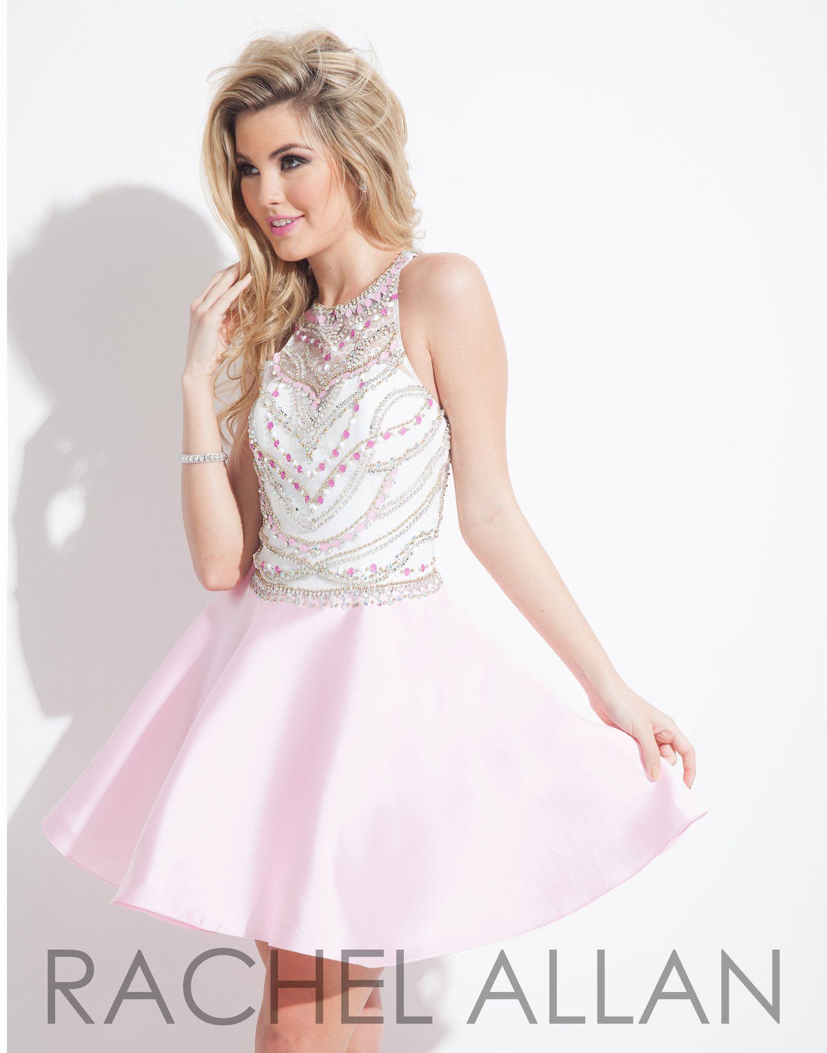 Rachel allan light pink homecoming dress clothes pinterest