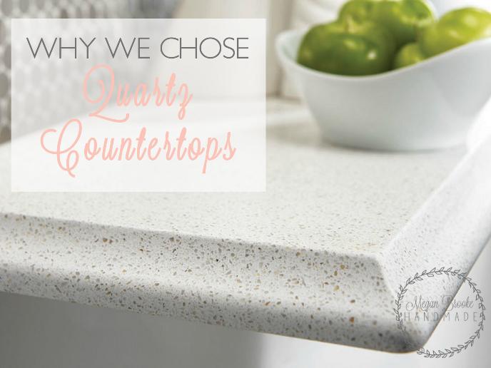 Why We Chose Quartz Countertops Tips Pinterest