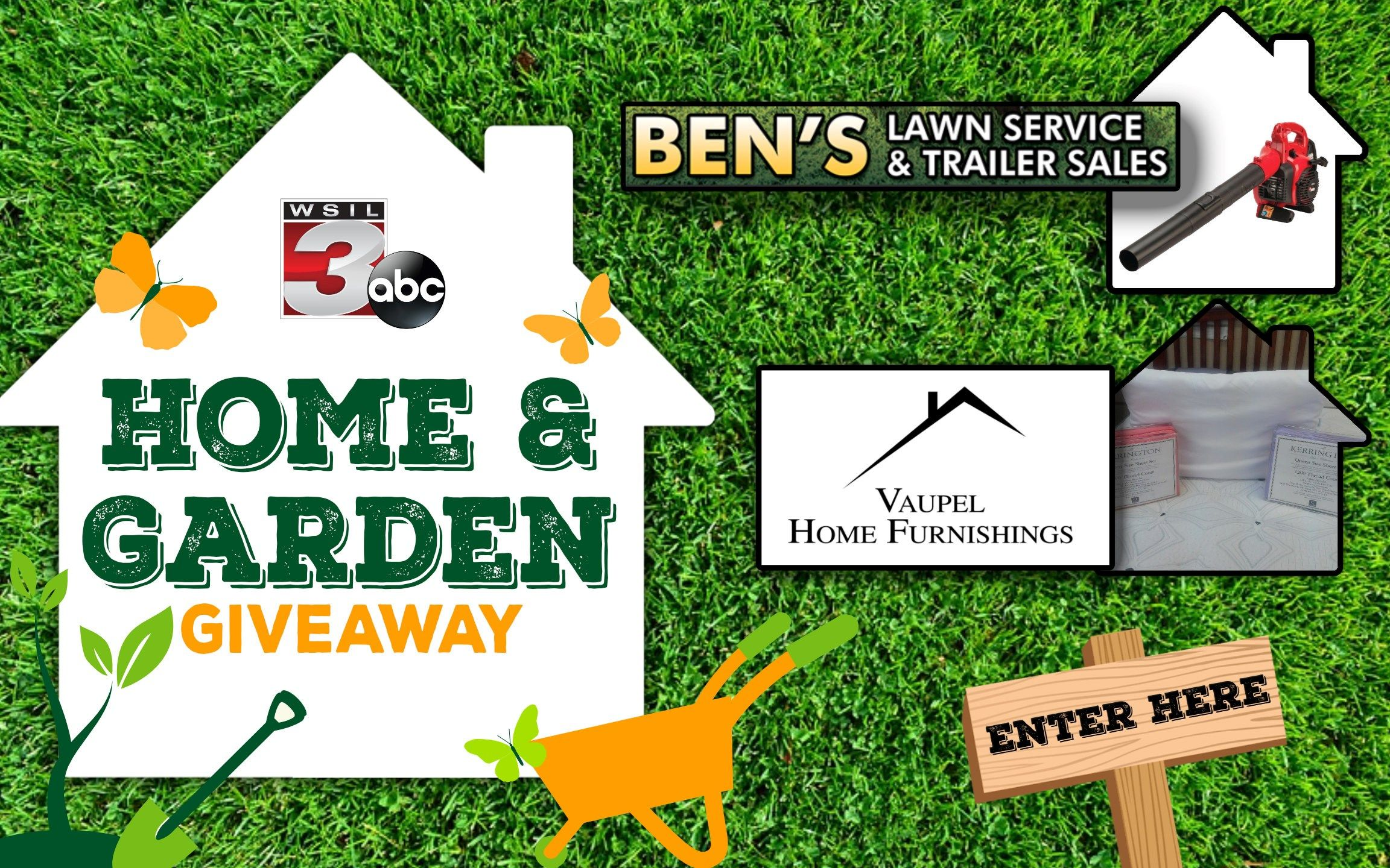 Home and Garden Giveaway Spring is a time for plans and