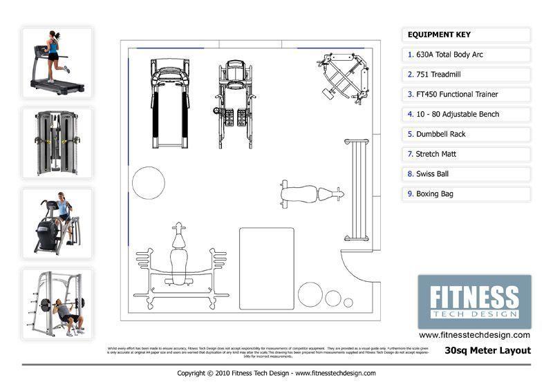 2D Gym Design & 2D Fitness Layout Portfolio | Fitness Tech Design #Design #Fitne...#design #fitne #f...