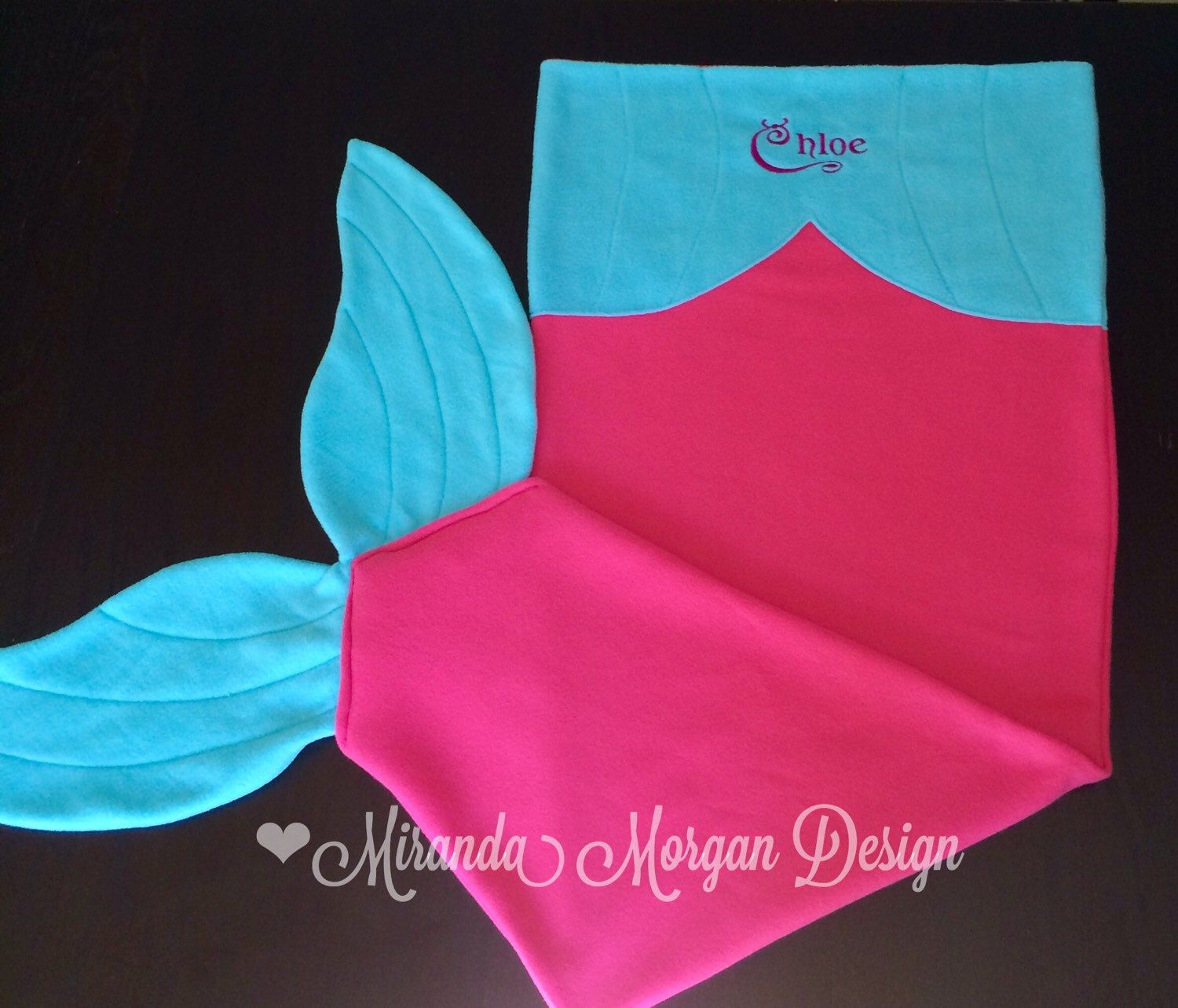 Mermaid Tail Blanket - Kids Customizable Mermaid Tail Blanket - Wearable Mermaid Tail / Fleece Mermaid Tail Blanket by MirandaMorganDesign on Etsy https://www.etsy.com/listing/244022450/kids-personalized-mermaid-tail-blanket