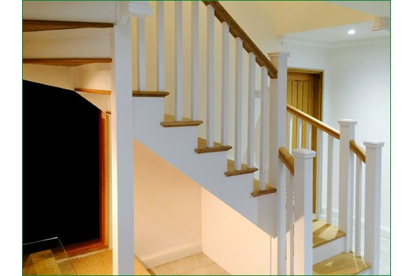 Best Case Study Wenlock White Primed Staircase Staircase 400 x 300