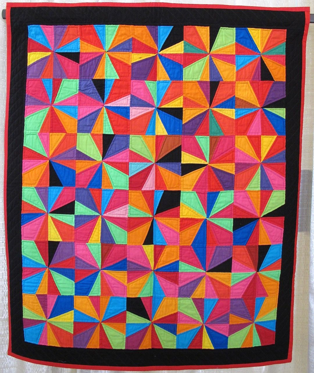 Moderne Quilts Mexican Hat Dance By Gwen Marston Patchwork Moderne Quilts