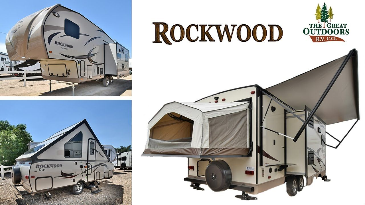 The Great Outdoors Rv Forest River Rockwood Travel Trailers Pop
