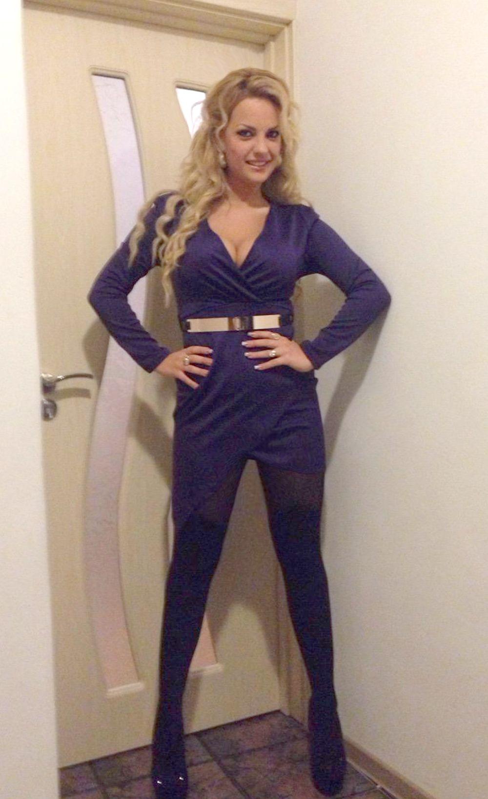 $36.99 Purple Long-Sleeve Cross Over Mini Dress