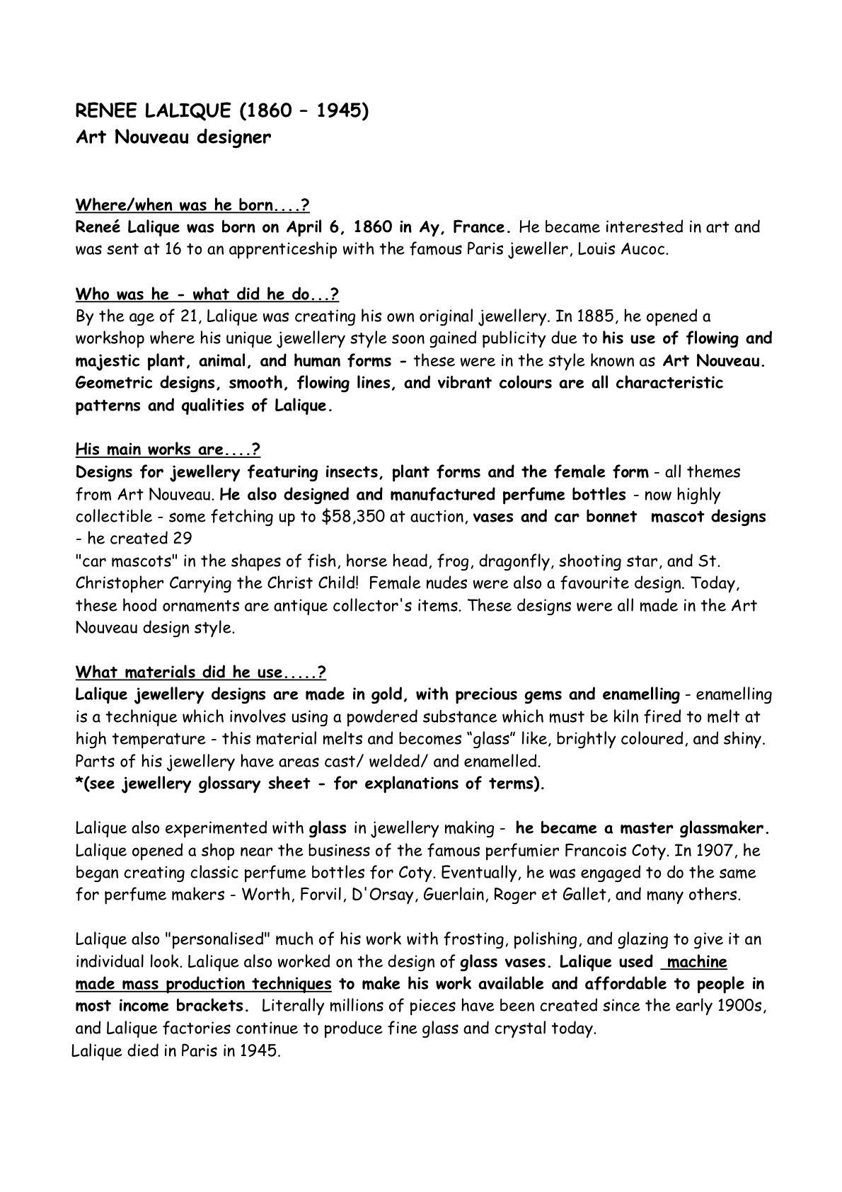 informative essay on graphic design