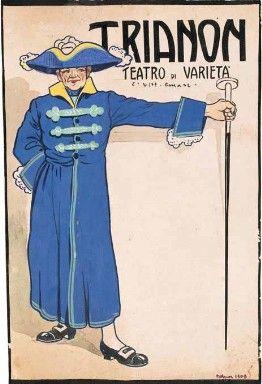 TRIANON. TEATRO DI VARIETÀ, 1909, Delitala Mario